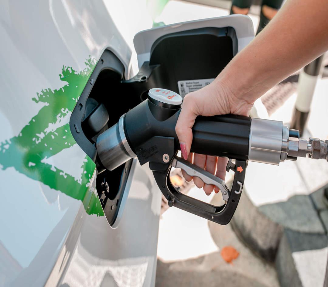 Erdgas als Treibstoff