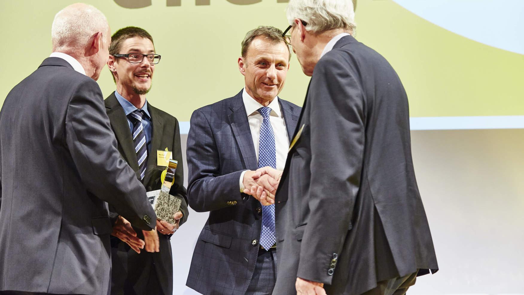Gewinner des diesjährigen Regio Energie Preis Solothurn