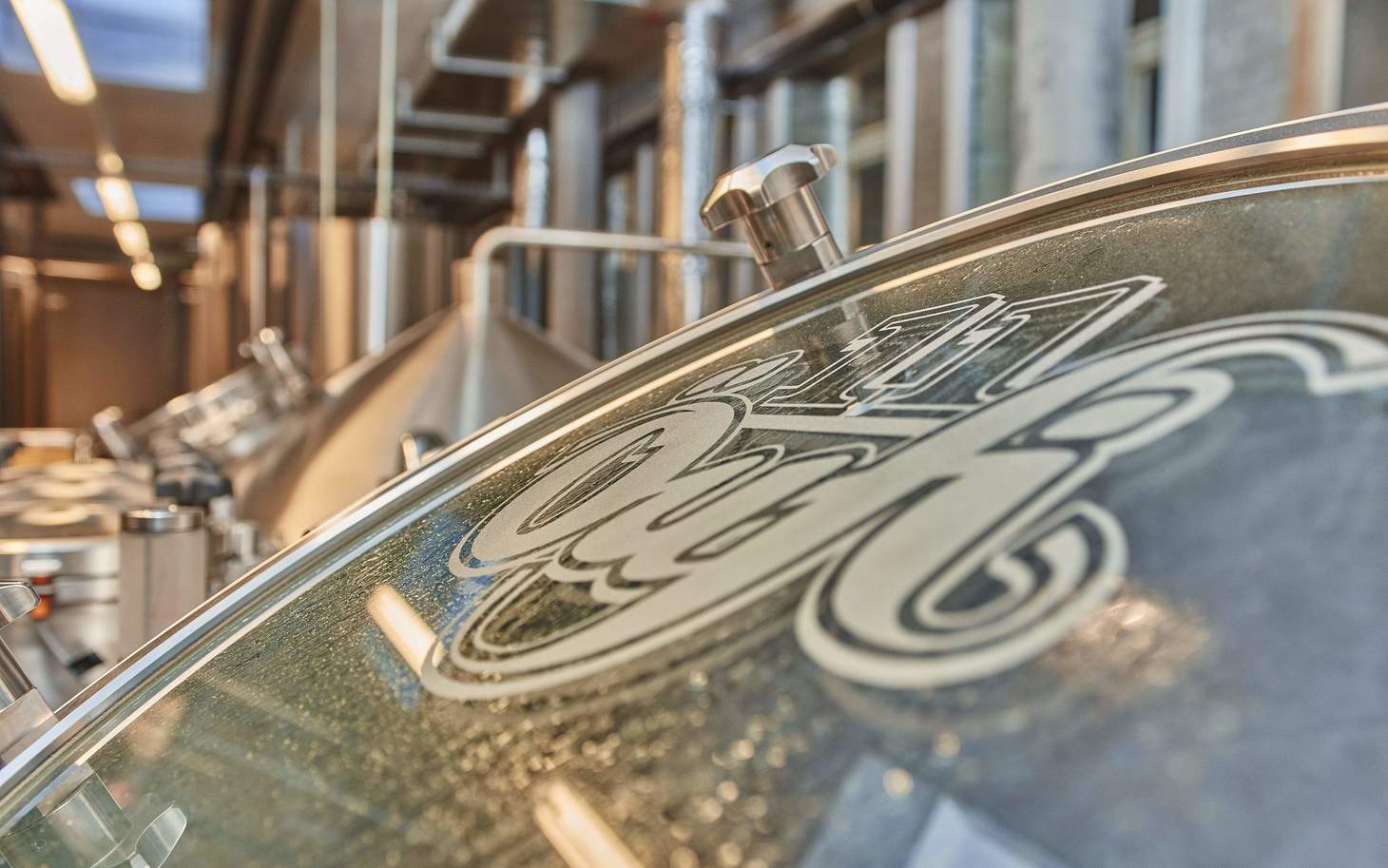 Braukessel in der Öufi Brauerei Solothurn
