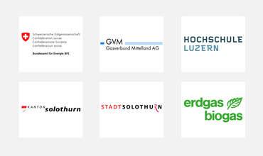 Logos der Projektpartner vom Hybridwerk