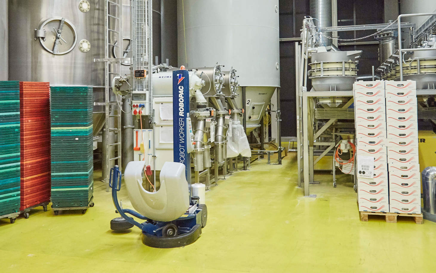 Produktionshalle Fortisa AG