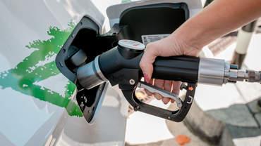 Auto tanken mit Biogas / Erdgas