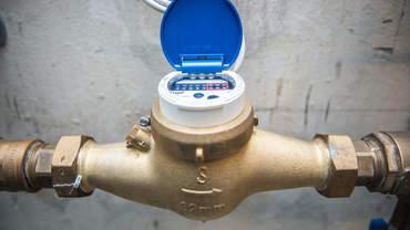 Zählerstand Wasser